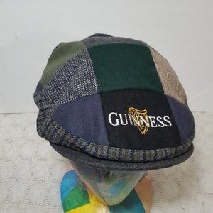 Guinness Stout patchwork hat size L newsboy cap
